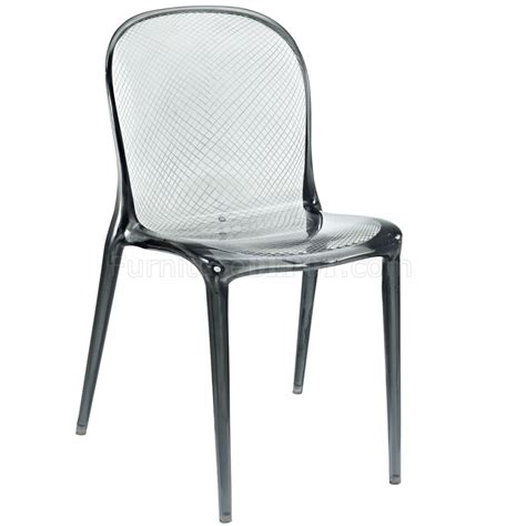 clear dining chairs set of 4 scape dining chair set of 4 in clear acrylic by modway