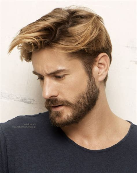 mens hairstyles to make face thinner thin beard styles for nice beard look fashion for men