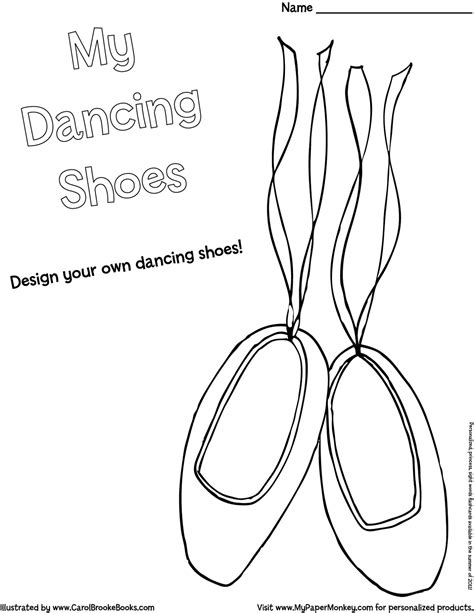ballet shoes coloring pages coloring coloring pages