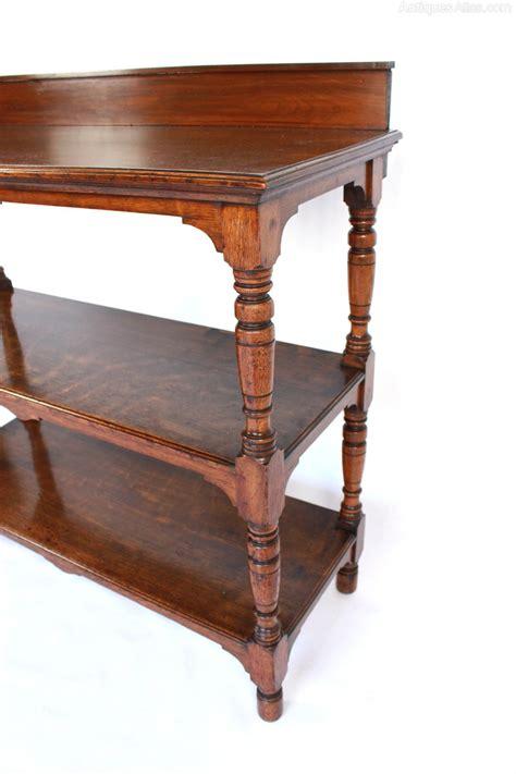 Oak Buffet Table by Oak Buffet Table Or Dumb Waiter Antiques Atlas
