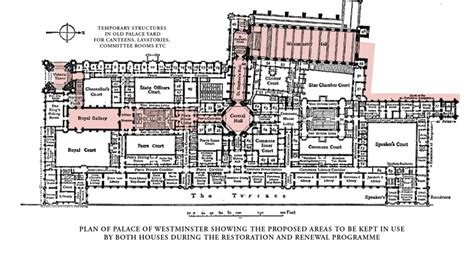 houses of parliament floor plan keep parliament in palace of westminster during refurb