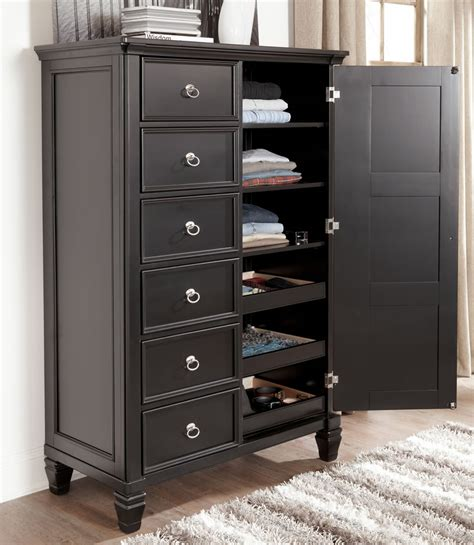Dresser Doors by Chicago Furniture Black Storage Bed Store