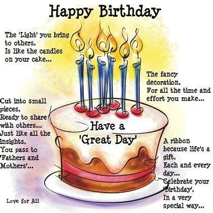 Inspirational Birthday Quotes For Him Motivational Birthday Quotes Happy Quotesgram