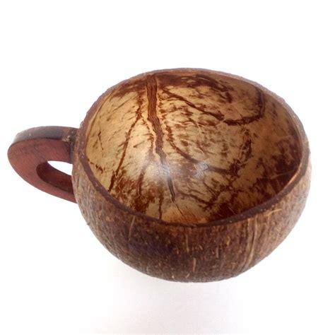 Gelas Batok Kelapa jual gelas cangkir batok kelapa dengan handle lf03 modemku mega sarana