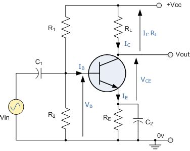 transistor as lifier with common emitter transistor circuit of the week 1 common emitter