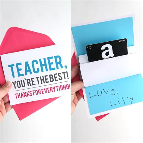 Free Up by Diy Appreciation Pop Up Gift Card Holder It S