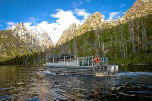 boat tour jackson lake hidden falls wyoming grand teton national park alltrips