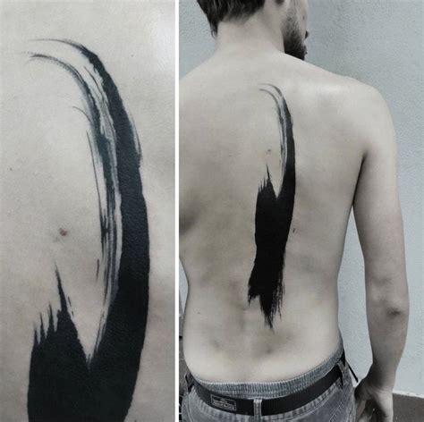 brush stroke tattoo 25 best ideas about brush on underboob