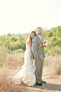 Diy outdoor wedding with rustic touches by blair nicole photography