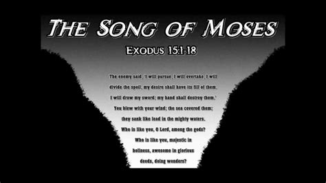 the song the song of moses