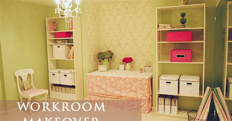 craft work for home decoration a storage room turned a pretty craft sewing work room