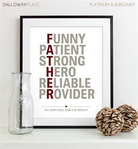 fathers day present awesome dad gift from children gift for