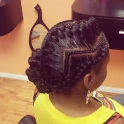 black hair styles with goddess braid or braid zig zag cornrows with goddess braid hair pinterest