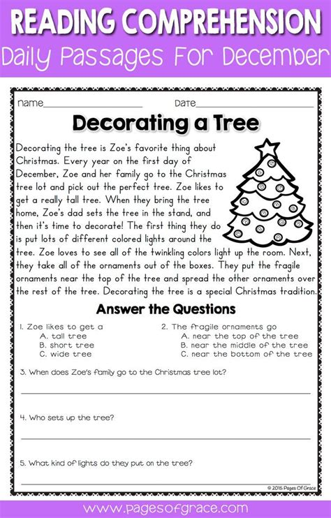 reading comprehension test narrative 17 best images about k 2nd grade language arts on