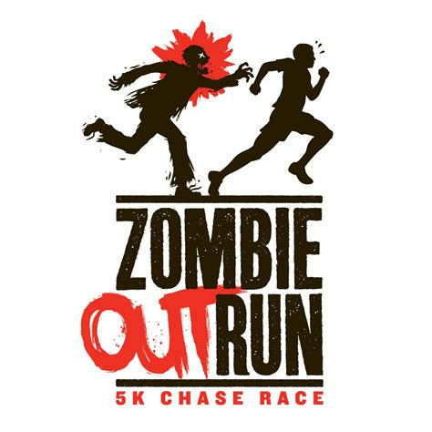 Zombies Run To 5k by Outrun 5k Race Justin Gammon Design