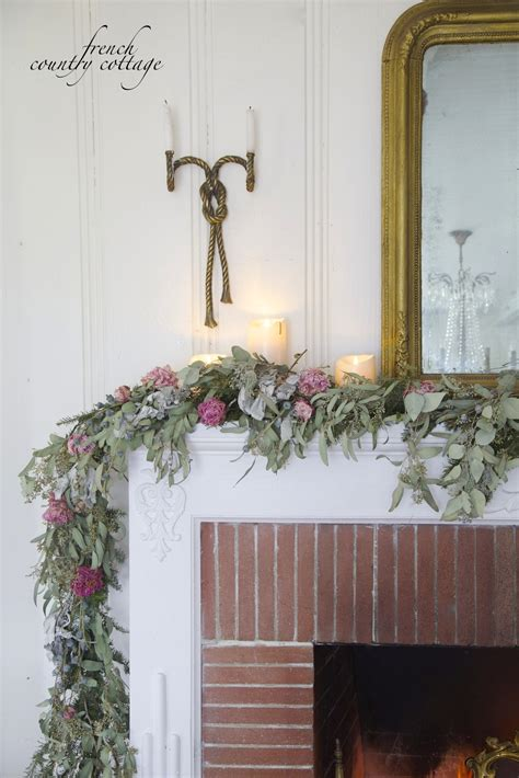 8 home decorating ideas to cure winter cabin fever vogue simple winter mantel french country cottage