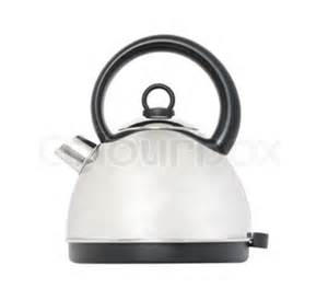 Kitchen Kettle Wiki A Kettle In Aluminium With A Black Handle On A White