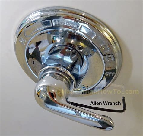 Delta Faucet Handle Removal by How To Replace A Leaky Shower Valve Cartridge