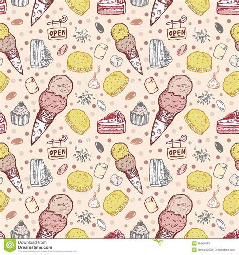 seamless pattern ice seamless ice cream pattern stock photos image 16344013