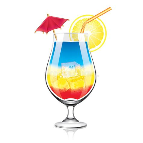 cocktail svg colorful cocktail vector illustration stock vector image