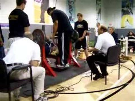 ivan putski bench press new bench press world record
