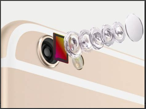 how many megapixels would be in the iphone 6s