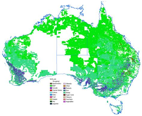 australia resource map australia resources map population