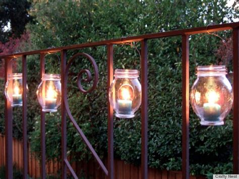 7 diy outdoor lighting ideas to illuminate your summer nights photos huffpost
