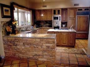 around kitchen island or any other half wall the