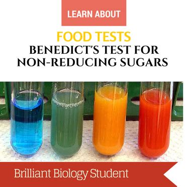 experiment 9 carbohydrates food tests benedict s test for reducing sugar ni