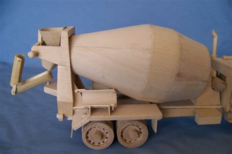 wooden kenworth kenworth cement mixer truck by miniature lumberjocks