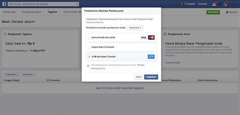 buat kartu kredit via online cara beriklan di facebook dengan sistem pembayaran bank