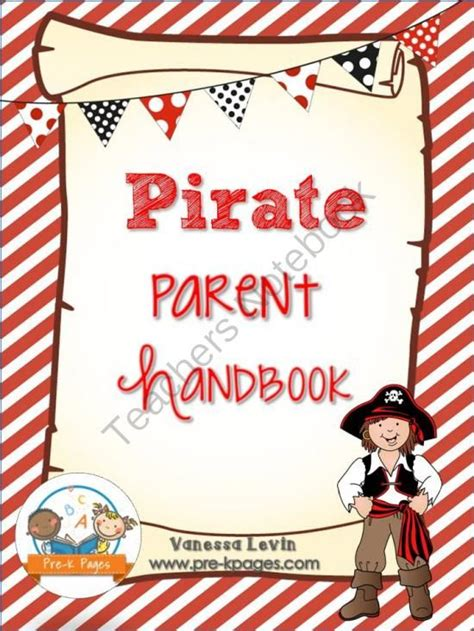 17 Best Images About Preschool Pirate Theme On Pinterest Student Centered Resources Nature Parent Handbook Template