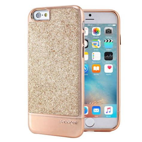prodigee sparkle fusion iphone   glitter case rose gold reviews