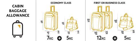 cabin baggage allowance baggage allowances etihad airways