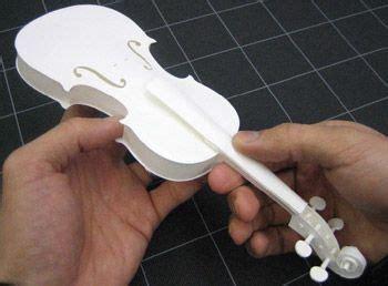 ornament origami violin viola cello diy crafts handson paper craft violin quot how to quot stuff i want to make