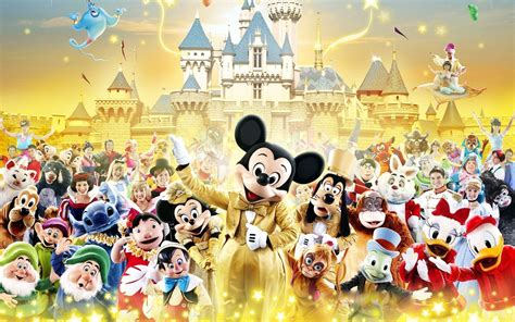 desktop themes disney disney characters backgrounds wallpaper cave
