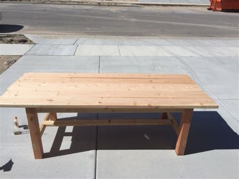 diy farmhouse table and bench plans diy farmhouse table and bench honeybear