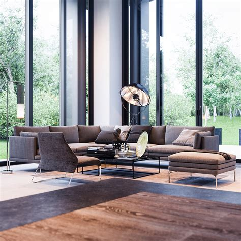 Floor To Ceiling Window 3 natural interior concepts with floor to ceiling windows