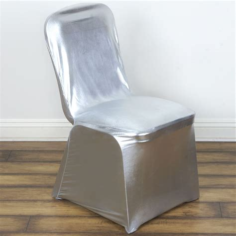 lame spandex elastic stretchable chair covers wedding party decorations ebay