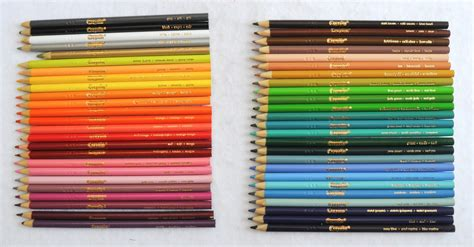 crayola colored pencils 50 pack crayola 50 count colored pencils s crayon collection