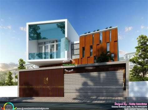 modern contemporary home cute ultra modern house architecture kerala home design