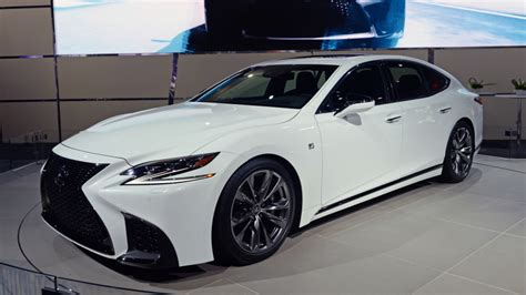 lexus sport 2018 2018 lexus ls 500 gets the f sport treatment autoblog