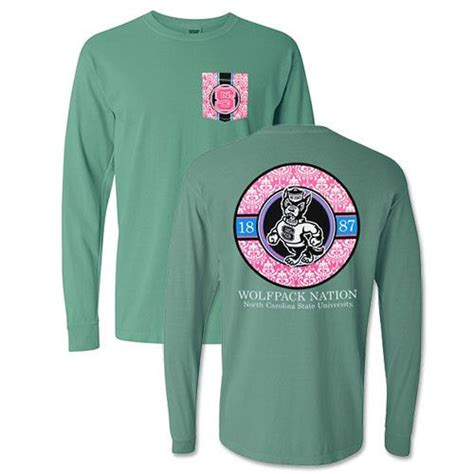 Comfort Colors Seafoam Green by Nc State Wolfpack Seafoam Green Comfort Colors Floral