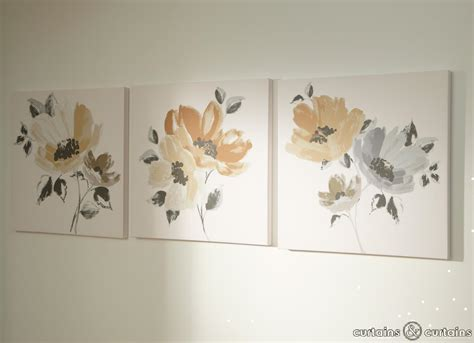 Floral Wall Decor by Wall Designs Canvas Floral Wall Flowers Paintings