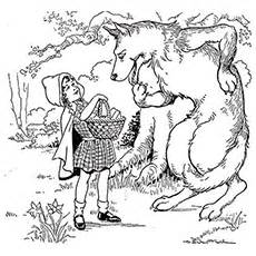 top 10 free printable little red riding hood coloring