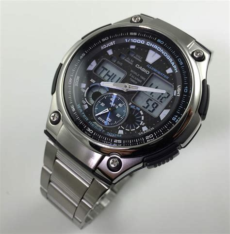 s casio analog digital aq190wd 1av ebay