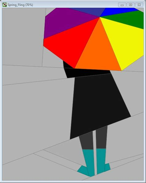 pattern for paper umbrella spring patterns and rain on pinterest