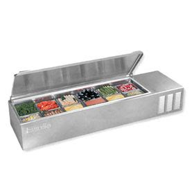 countertop prep cooler silver king skps12 c1 counter top sandwich prep unit