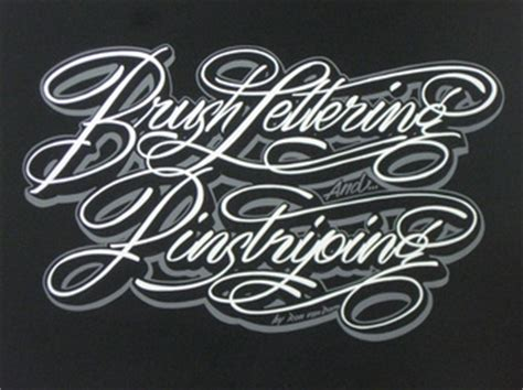 custom spray paint font brush lettering pinstriping custom airbrush artist